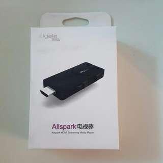 HDMI 電話平板wifi連接電視手指 airplay 同屏