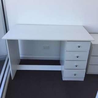 Desk + Free Swivel Chair