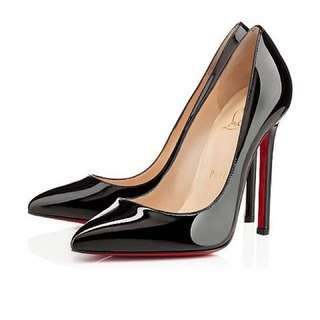Christian Louboutin Patent Pigalle 120 Size 7.5 Worn Once
