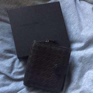Bottega Venetta Dark Brown Wallet