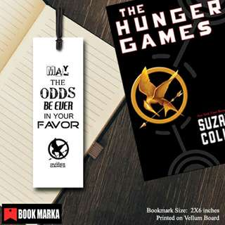 The Hunger Games Trilogy Bookmarks