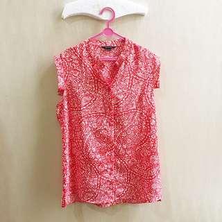 Executive Batik Shirt Kemeja Atasan Kerja Hnm