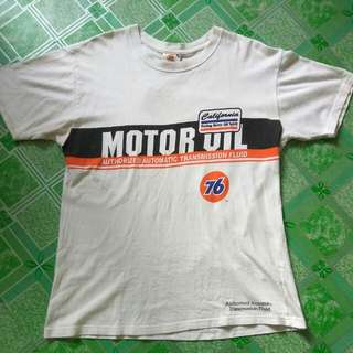 Authentic 76 Lubricants Motor Oil TShirt