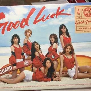 AOA-Good Luck(送poster)