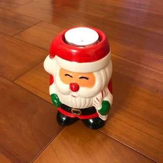 聖誕老公公蠟燭台