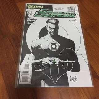 Green Lantern (new 52) #1 Black And White Variant