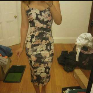 Floral Dress From BOOHOO
