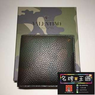 [全新] VALENTINO Rockstuds Leather Wallet [SS17新款]
