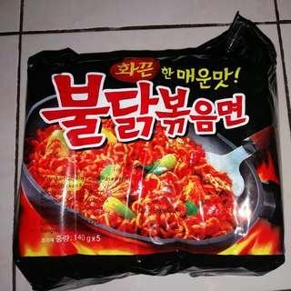 Samyang (Mie Korea) Mie Instan Goreng Pedas Rasa Ayam