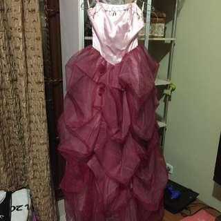 Cinderella Dress (baju Pesta)