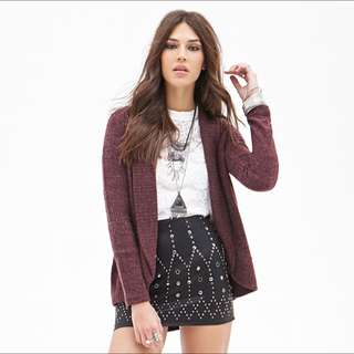 Forever 21 f21 Knit Cardigan/Sweater