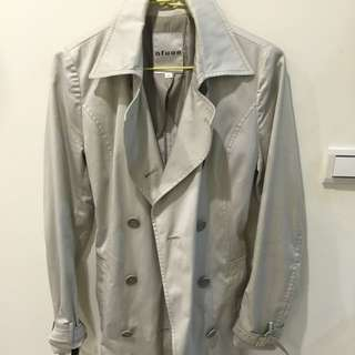 日系品牌Oufuon風衣外套