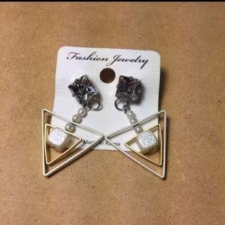 幾何造型設計耳環