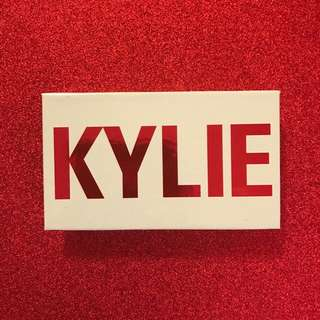 Kylie Cosmetics Mini Matte Eyeshadow Set Authentic Valentines Day Collection Limited Edition