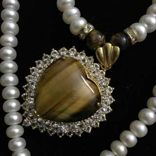 ❤️ Pearl Long Necklace