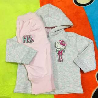 Hello Kitty Hooded Jacket and Pants