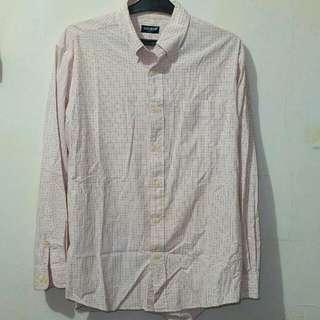 Cotton shirt kemeja Uniqlo
