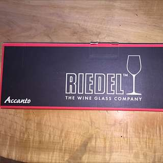 4 Pack Of Riedel Stemless Wine Glasses