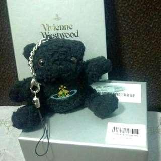 🈹*清櫃$* 100%auth. VW accessories 吊飾:                                                                               Limited edition bear-bear bag charm (特别版)