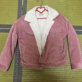 粉紅色外套