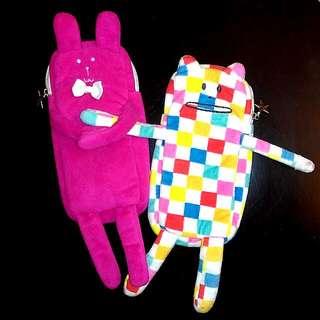 👉筆袋 化妝袋👈 兔兔外星人