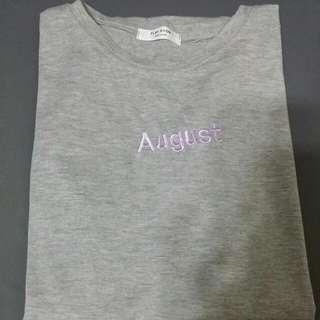 🌷灰色August 上衣 T Shirt