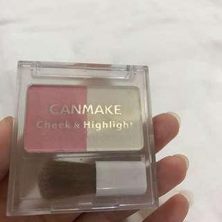 Blush On & Highlighter