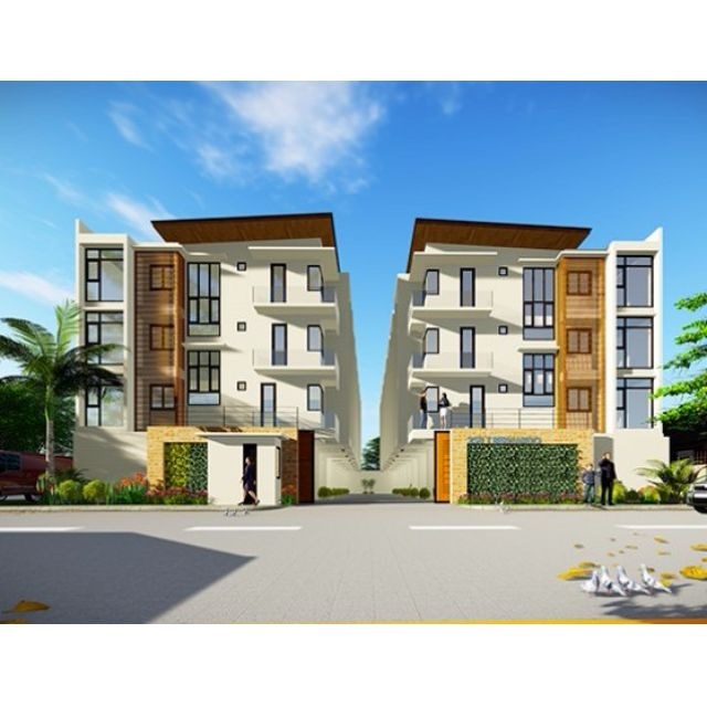 4-STY TOWNHOUSES UNDER CONSTRUCTION IN MANDALUYONG