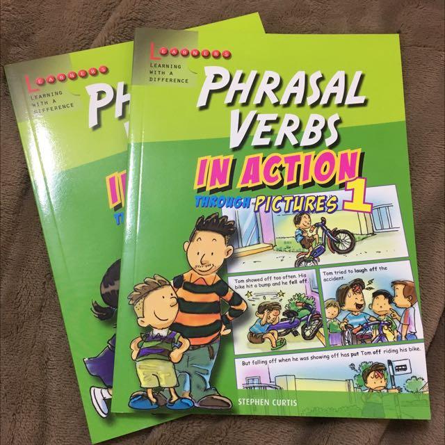 看漫畫學英文(片語)購於新加坡