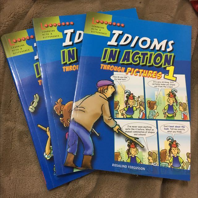 看漫畫學英文(慣用語)購於新加坡