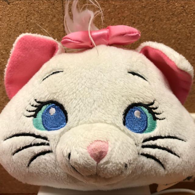 迪士尼瑪麗貓卡套零錢包