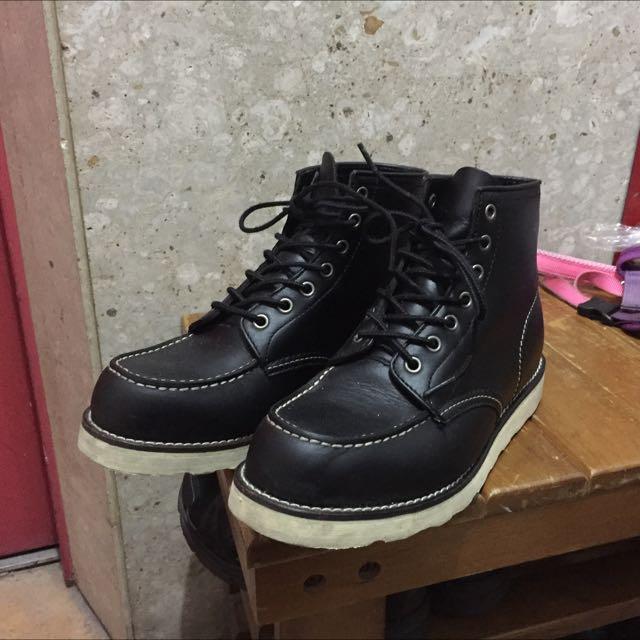 超好看 手工靴子 購於日本 類red wing