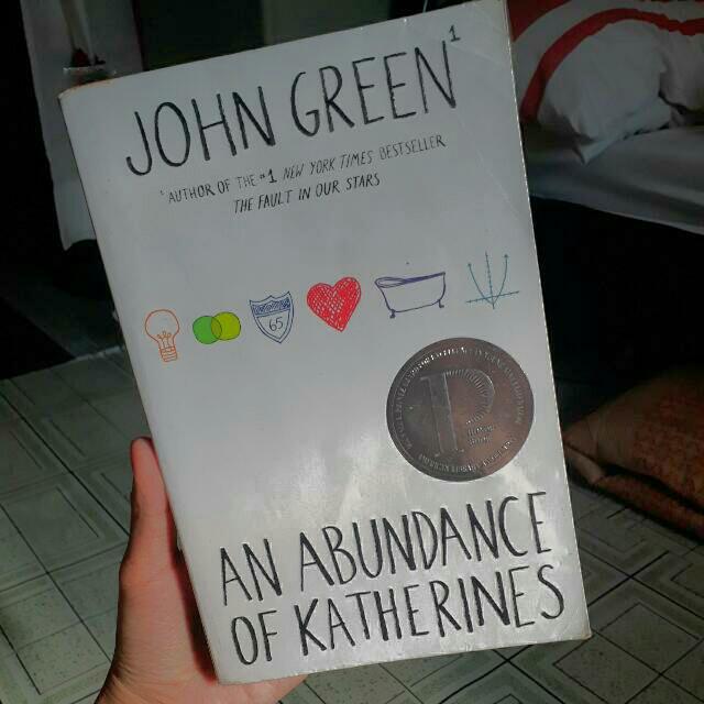 Abundance of Katherines by John Green