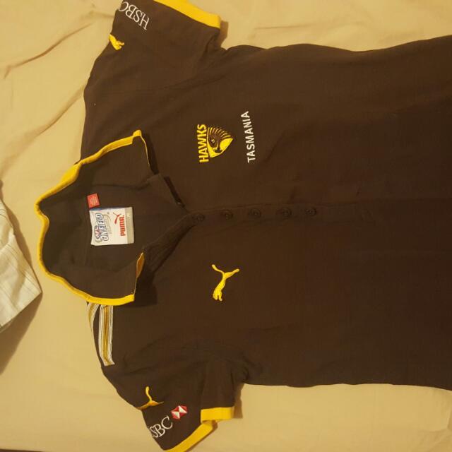 AFL Brisbane Lions And Hawthorn Hawks Polo Shirt