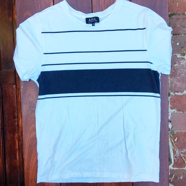 APC Striped Short-sleeved T-Shirt