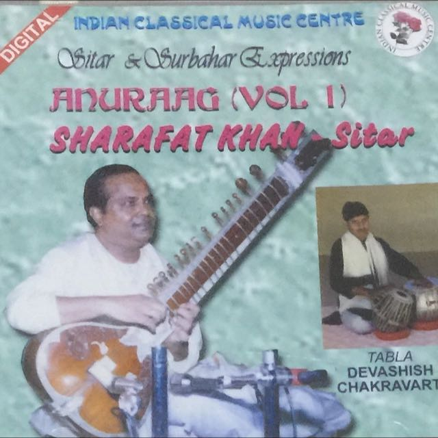 Audio cd Anuraag V-1