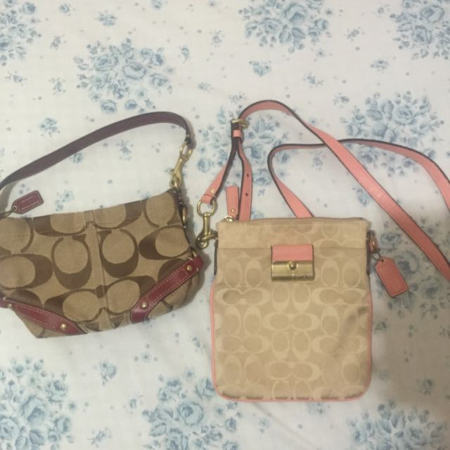 Authentic Coach Mini Bags