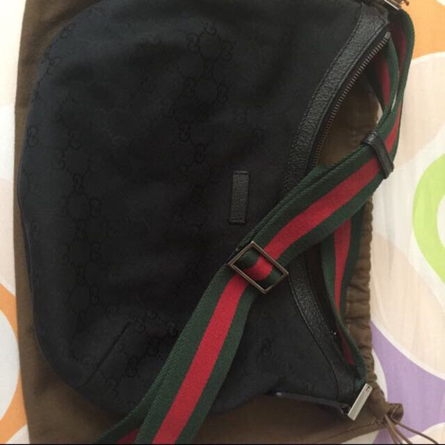 6447d3f71 Authentic Gucci Half Moon Sling Bag, Luxury, Bags & Wallets on Carousell