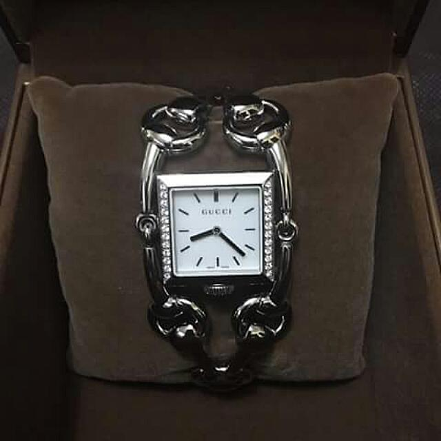 Authentic Gucci Watch W/ Diamonds