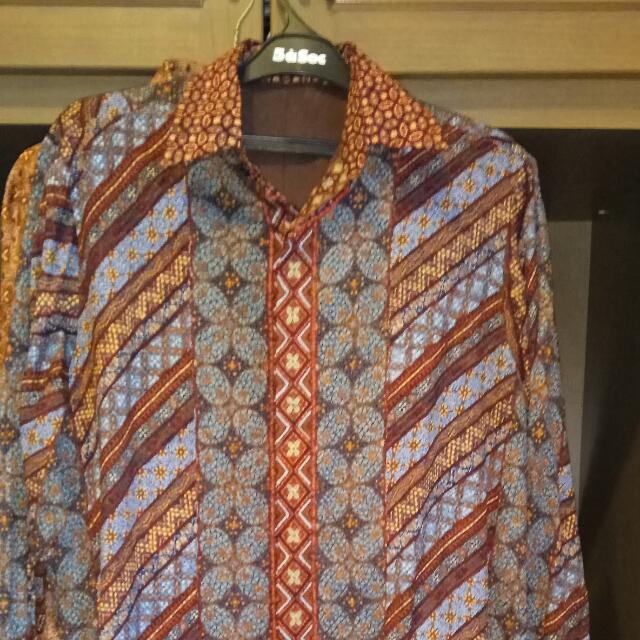 Batik Pria Nyonya Indo Sutra ( Original)