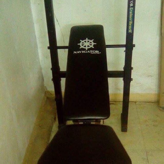Bench Press All Weights , Locks , Included