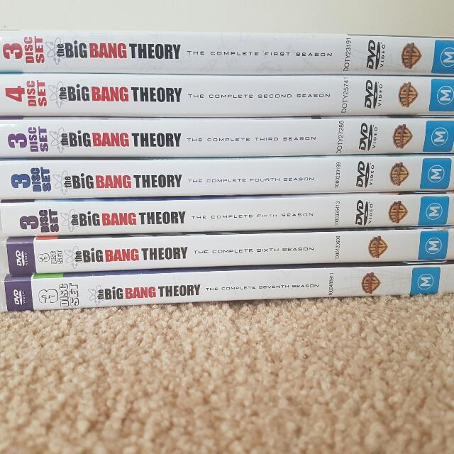 Big Bang Theory Seasons 1-7 Set