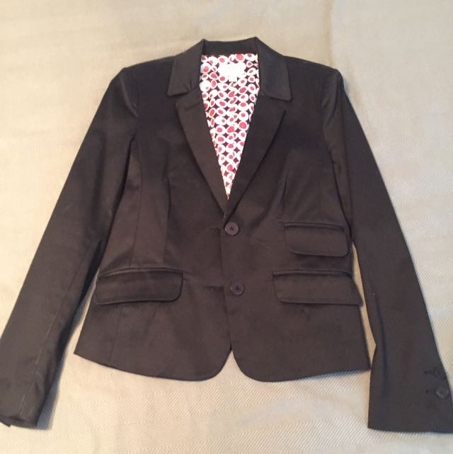 Black Blazer From Jacob