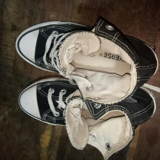 Black Converse Shoes(Orig)