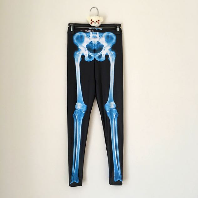 Blackmilk Leg Bones X-Ray Leggings