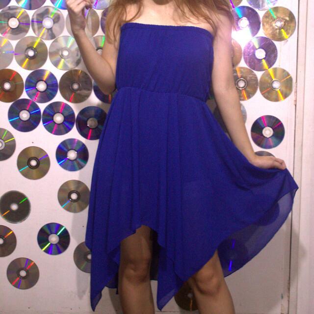 Blue Layered Dress