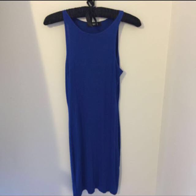 Blue Missguided Bodycon Dress