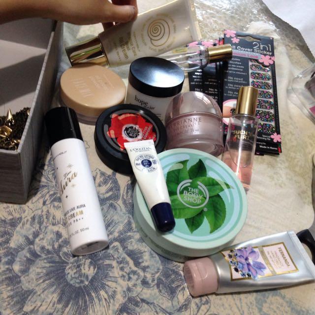 Boleh Di Cek Dulu Body Shop Tony Moly Victoria Secret