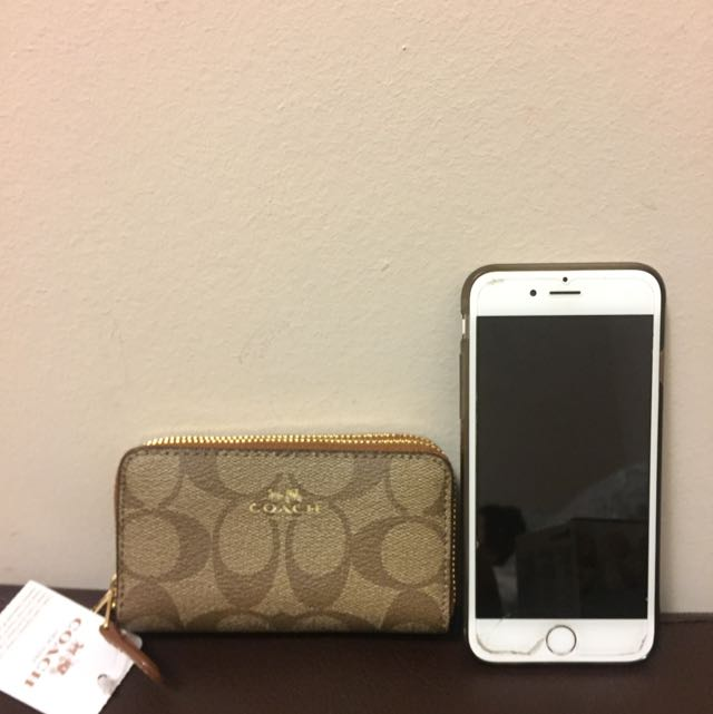 Brand New Coach Card And Coin Wallet (small)