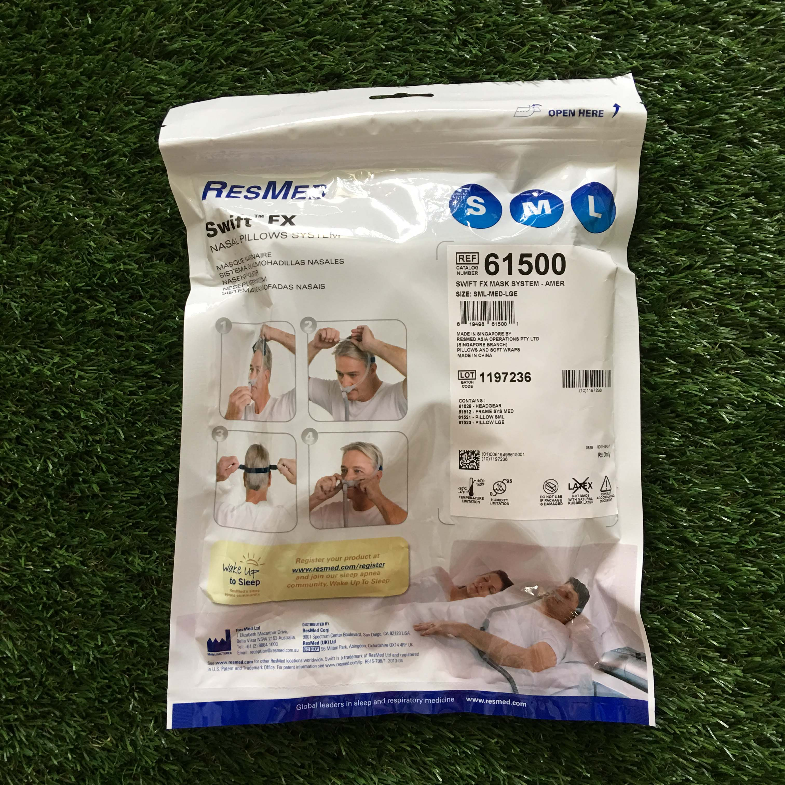 BRAND NEW ResMed Nasal Pillow Mask